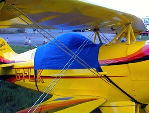 Pitts S1 single-place canopy cover. & Covers